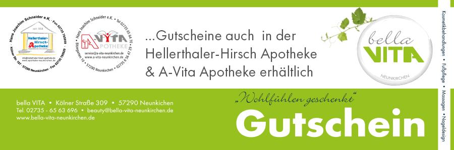 Gutschein bellaVita Neunkirchen